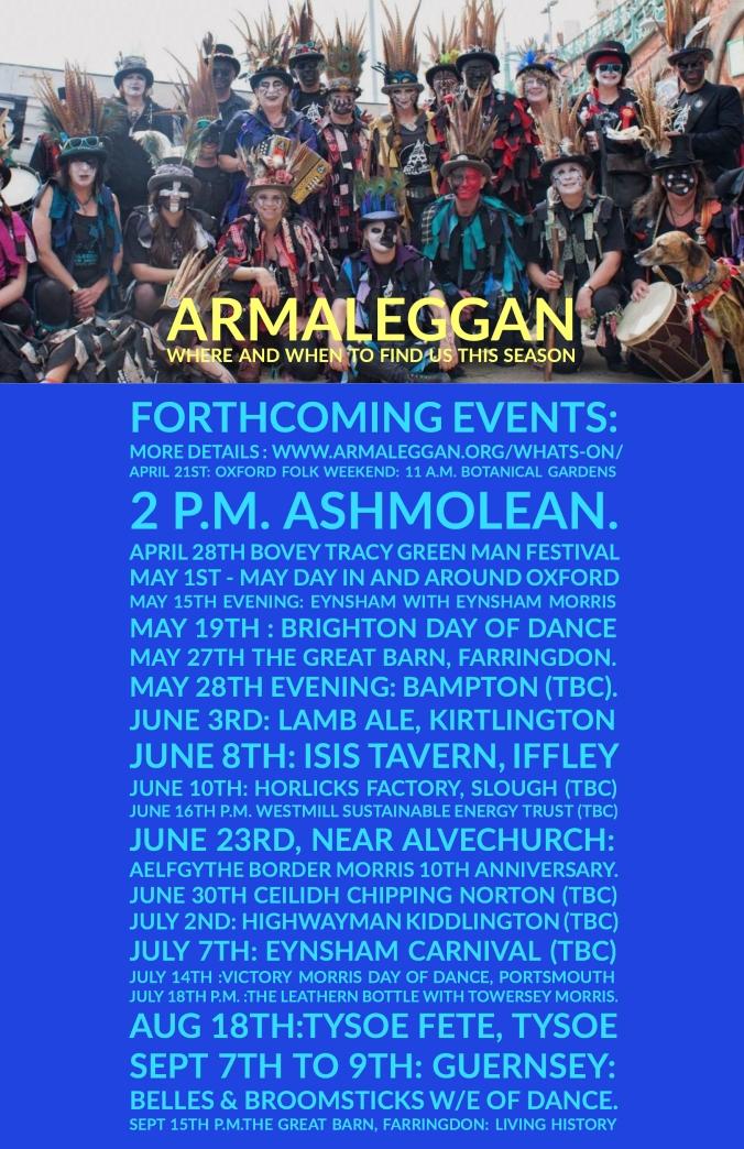 Armaleggan Events 2